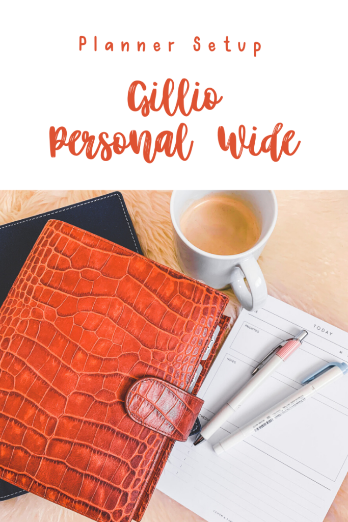 Gillio Personal Wide Rings Planner