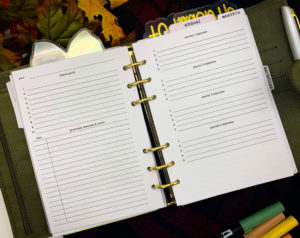 Benefits of printable planner inserts