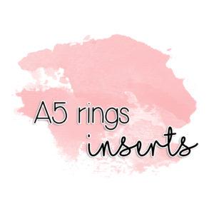A5 inserts